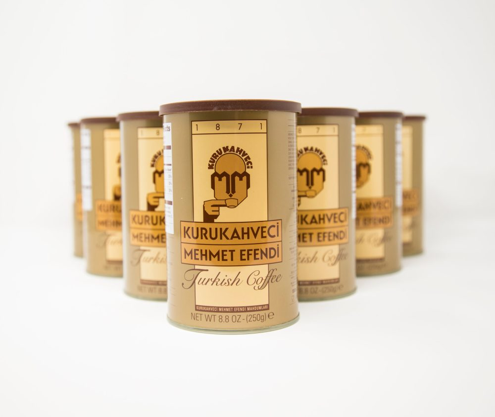 Turkish coffee can 250g