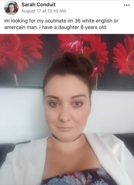 sugar mummy Sarah