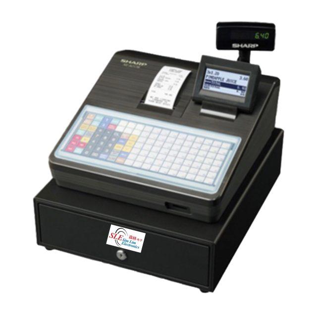 Sharp XE A217 Electronics Cash Register
