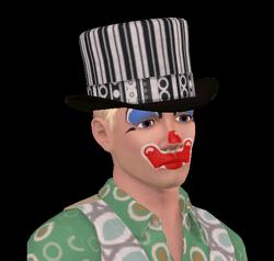 El Payaso Trágico en Los Sims 3