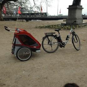 biking in Geneva