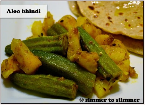 Aloo Bhindi (Okra and Potatoes)