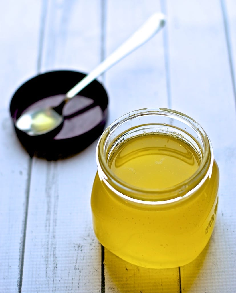 Make Ghee at home using butter in less than 20 minutes!