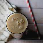 Date and Chikoo Smoothie - This nutritious blended drink made from Date and Chikoo (Sapota) is a great treat for anytime of the day