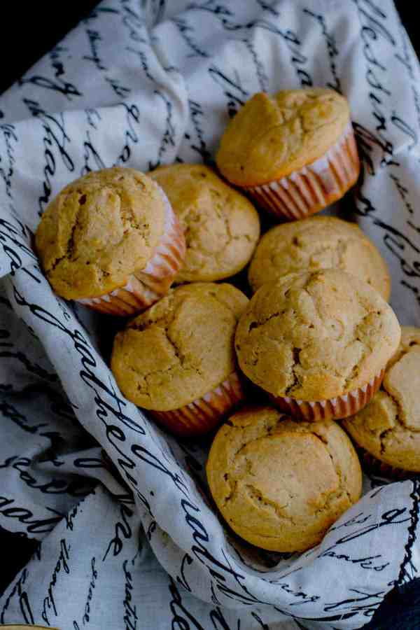 These moist and delicious whole wheat banana muffins are perfect for your kid's school lunch or after school snack.Love the fact that you can make them in 30 minutes!