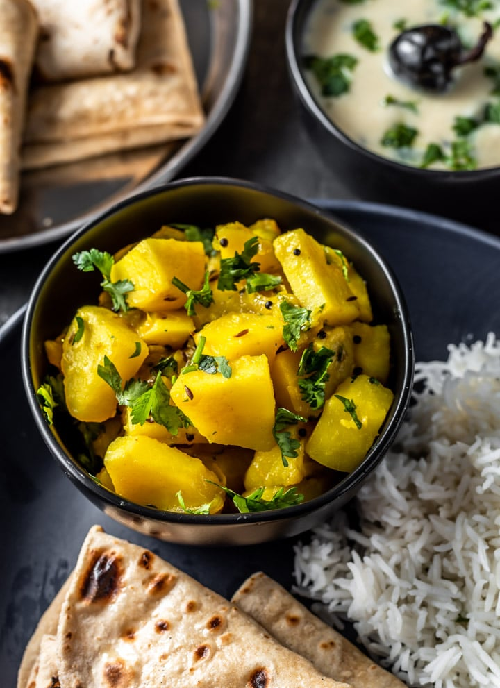 Aloo ki sabji (Indian Potato Recipe)