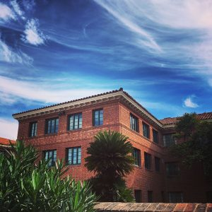 One of the historic dorms at the University of Arizona.