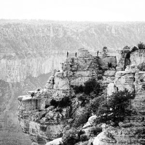 A Grand Canyon National Park north rim overlook.