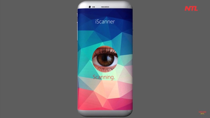 iPhone 7 with Eye Scanner Innovative sca