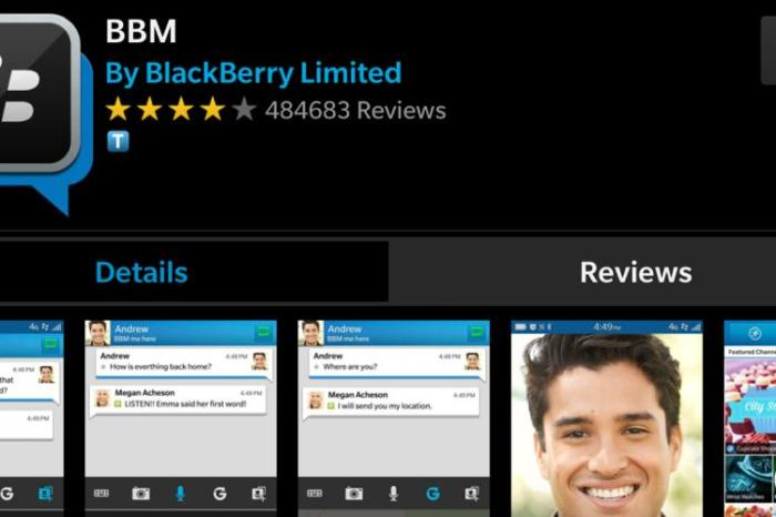 BBM for BB10 Update in BlackBerry World | Simmyideas Tech Hub