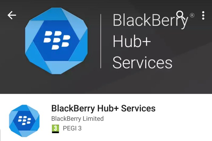 BBM and Hub+ Services for Android update available now!