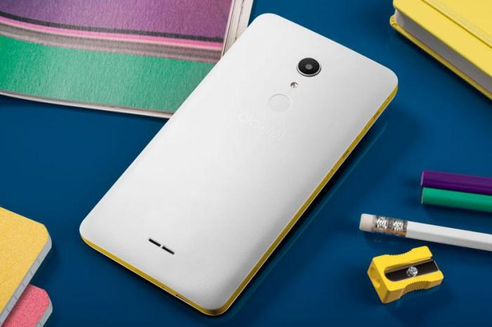 Alcatel A3 XL with 6-inch display, fingerprint sensor, Android 7.0, 4G LTE