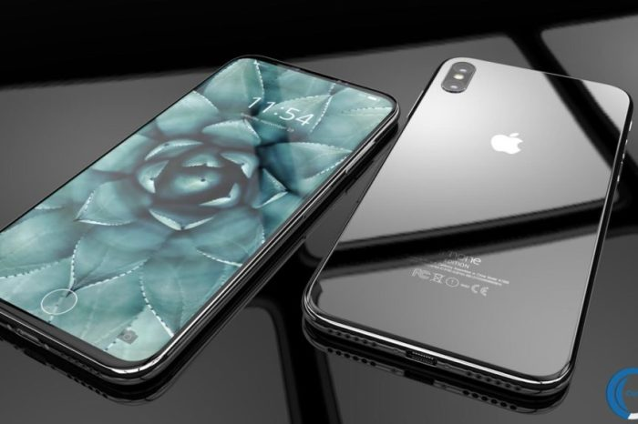 iPhone 8 Render with Red Edges Look Hot