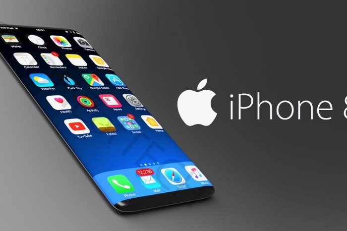 iPhone 8 to feature Glass Casing, Waterproof, Face-scanning technology.....