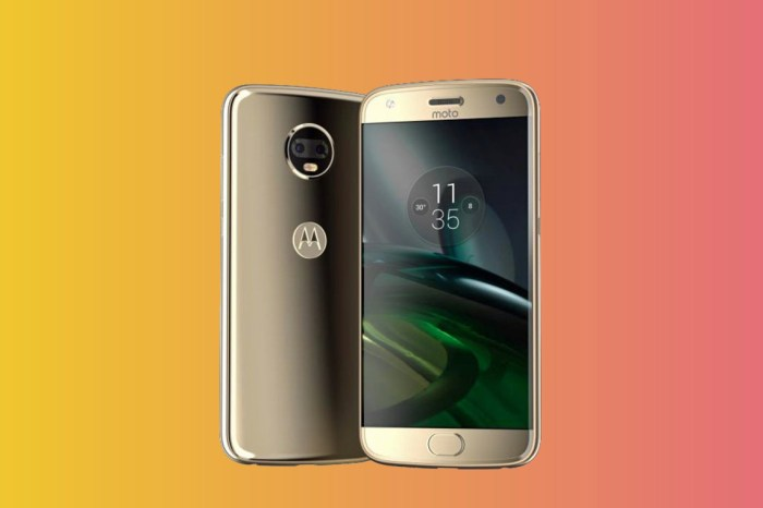 Motorola Moto X4 with dual rear cameras, and IP68 water resistance