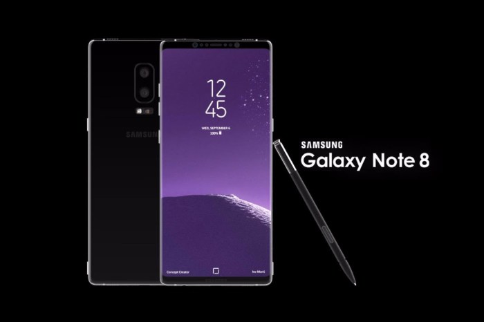 Samsung Galaxy Note 8 Features 6GB of RAM, S Pen, Android 7.1, 12MP Cam