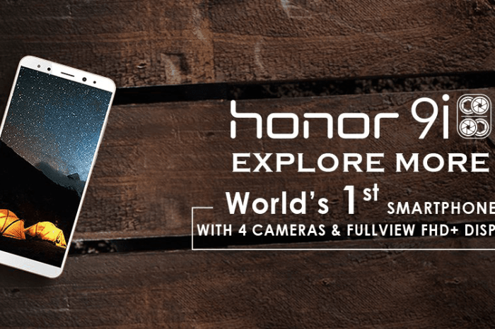 Huawei Honor 9i: The Quad-Camera Phone With A Full View Display