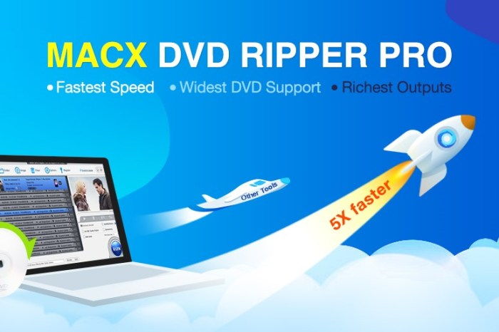 Alternative to Handbrake Mac: Rip DVD with MacX DVD Ripper Pro with Fast Speed [Giveaway]