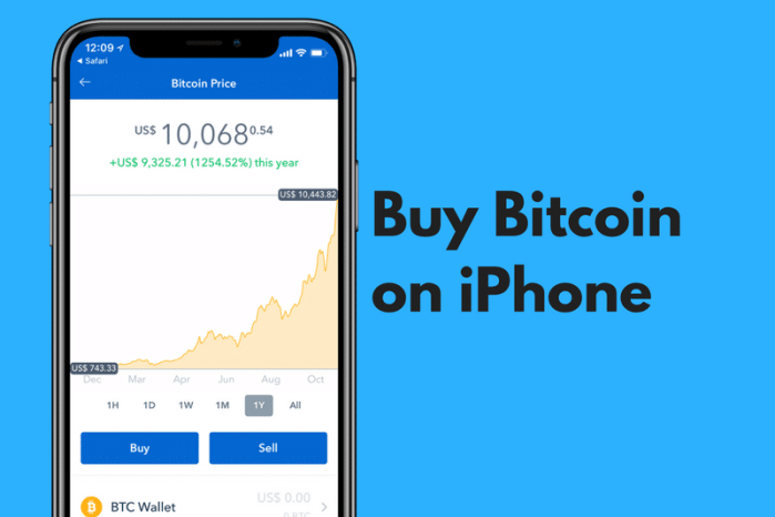 How to buy and sell Bitcoin on an iPhone, Ipad and Android
