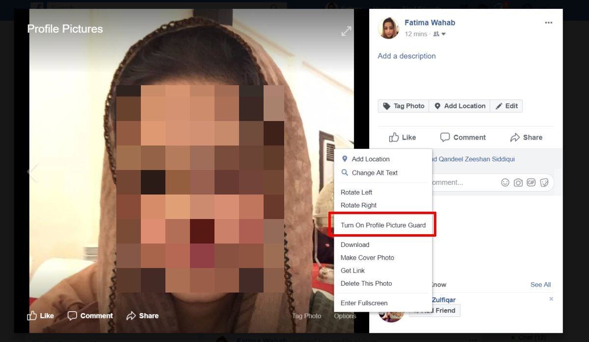 How to Lock Your Facebook Photos
