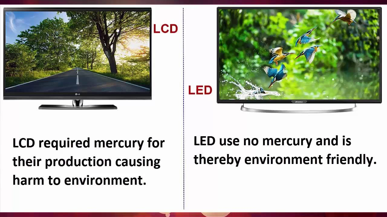 LED and LCD