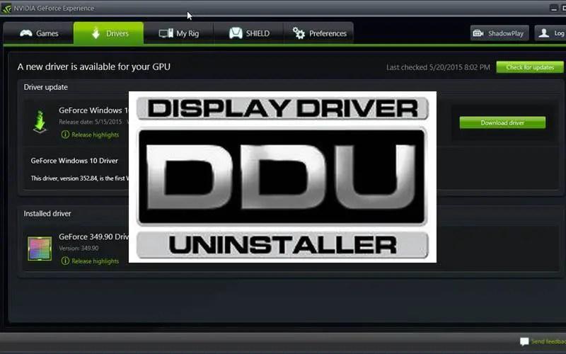 clean install nvidia drivers ddu