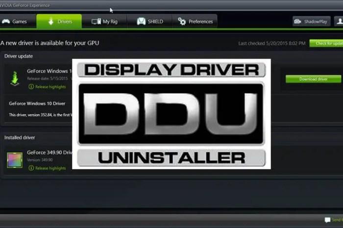 Free Download - Display Driver Uninstaller 18.0.0.8