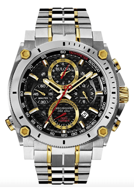 Japanese Quartz Two Tone Watch