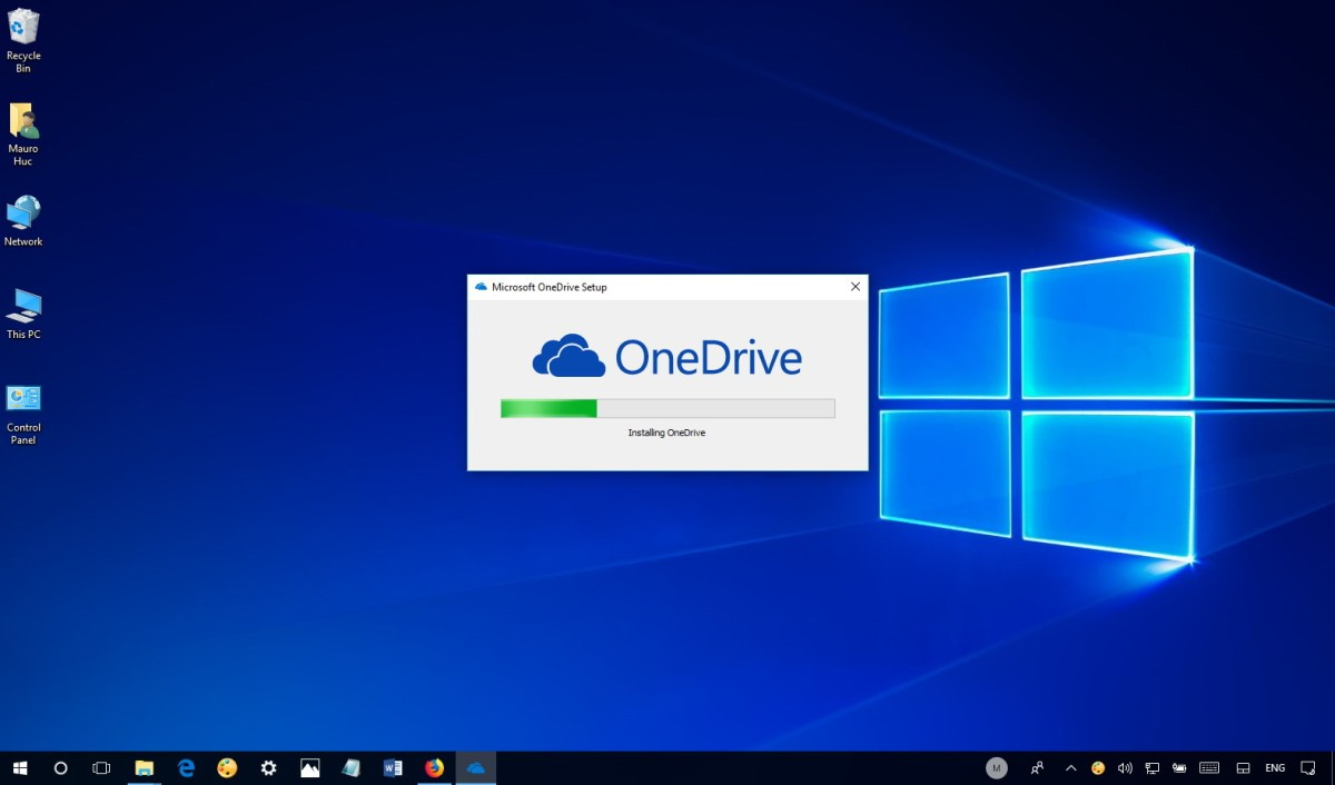 OneDrive in Windows 10