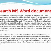 SEARCH-MS File