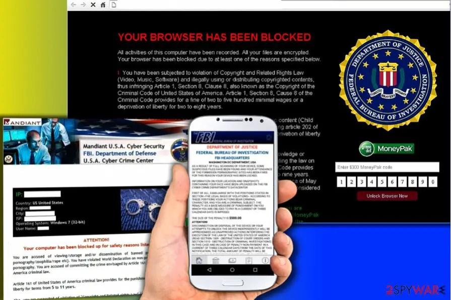 The FBI Virus - Simmyideas