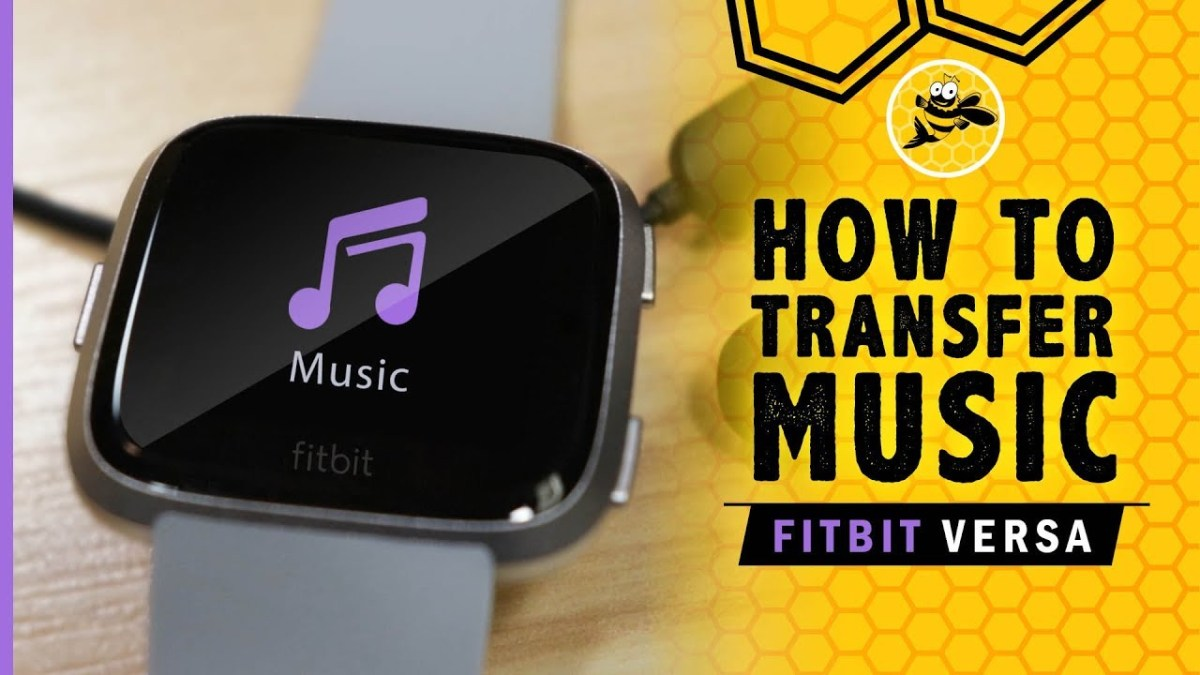 Music to a Fitbit Versa