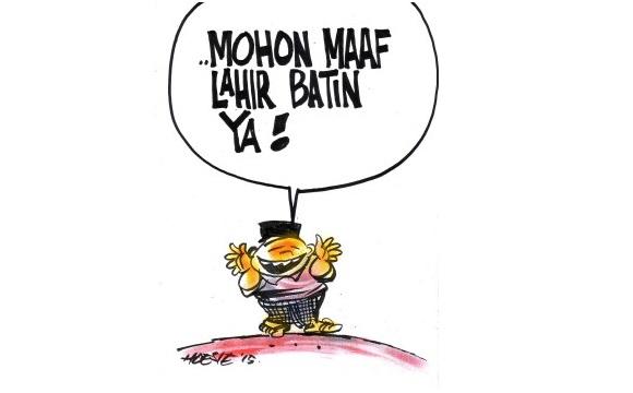 Selamat Idul Fitri Mohon Maaf Lahir Batin Simomot