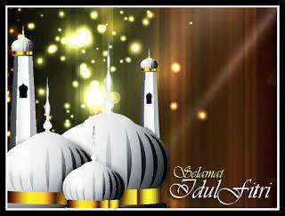 Kumpulan Gambar Animasi Bergerak Ucapan Selamat Idul Fitri 1438 H