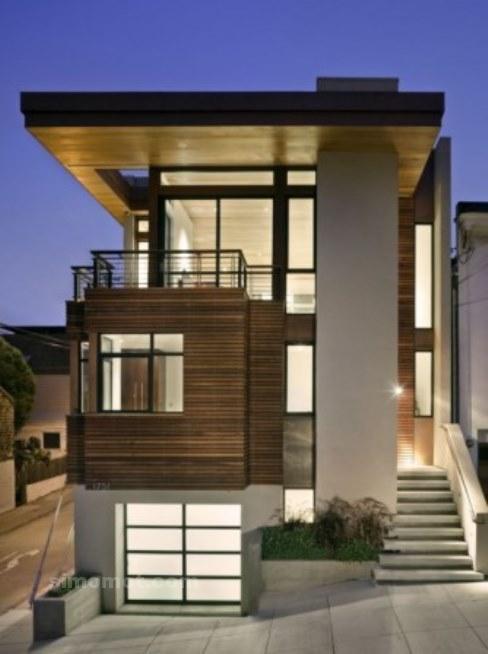 Foto Desain Eksterior Rumah Minimalis Modern Ke 456 Si Momot