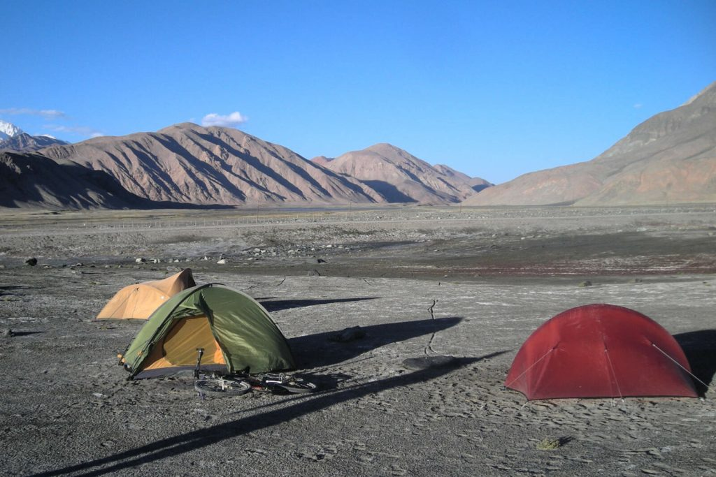 Zelte-Pamir-Highway