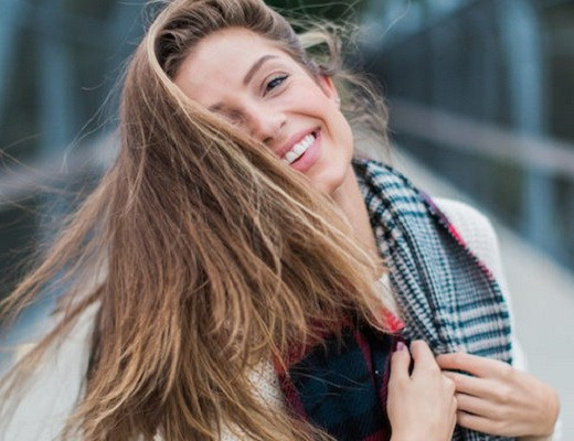 femeie fericita