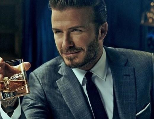 David Beckam whiskey