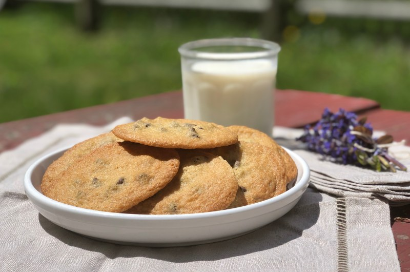 Gluten-free Chocolate Chip Cookies, Tate style