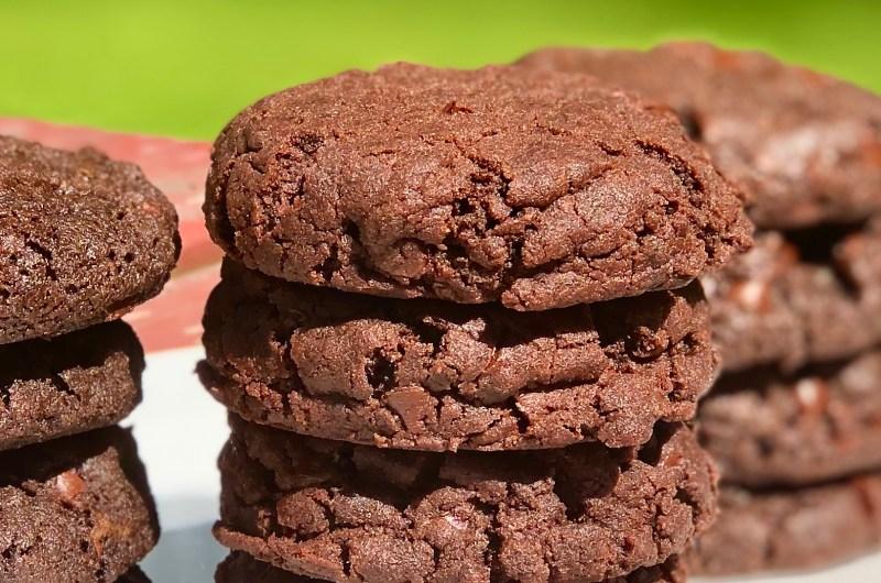 Gluten-free Vegan Double Chocolate Cookies I