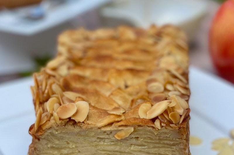 Gluten-free Invisible Apple Maple Cake