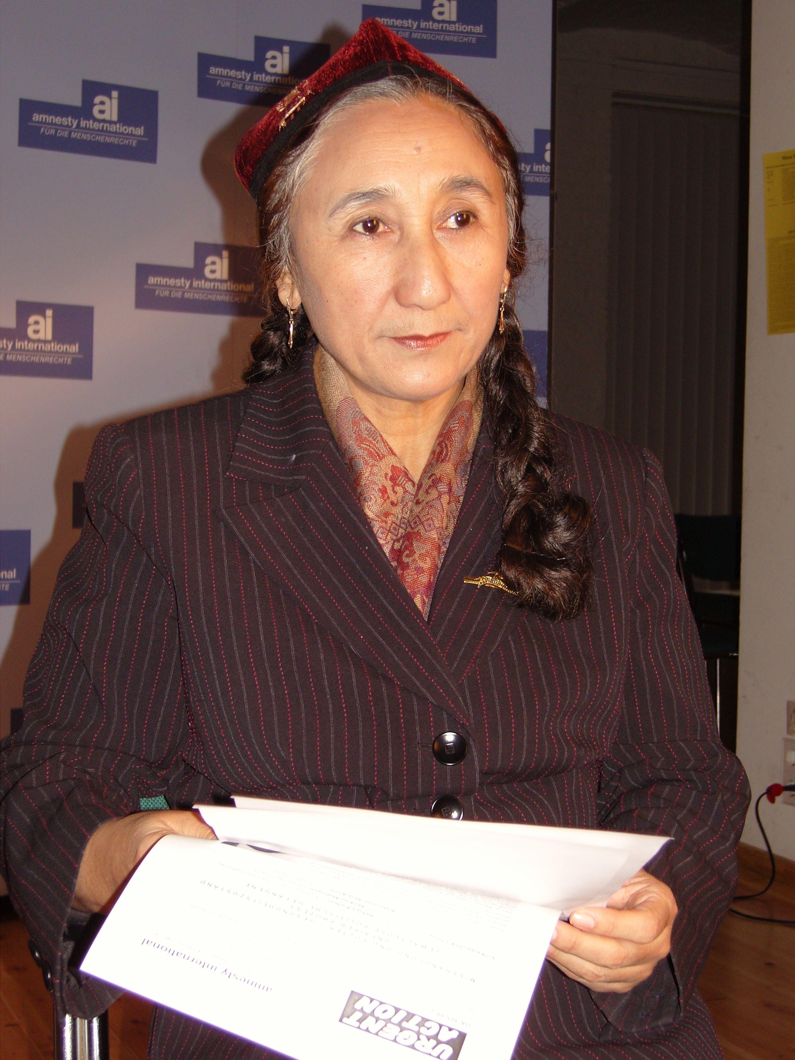 Kadeer foto2 copyright of the World Uyghur Congress