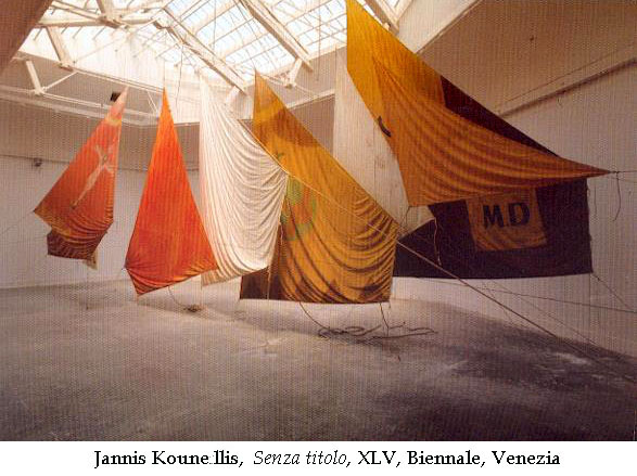 Kounellis Biennale di Vnezia