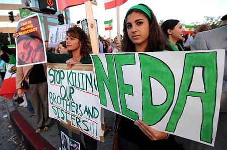 for Neda, Iran