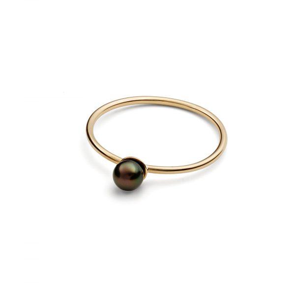 Black Pearl Grand Ring