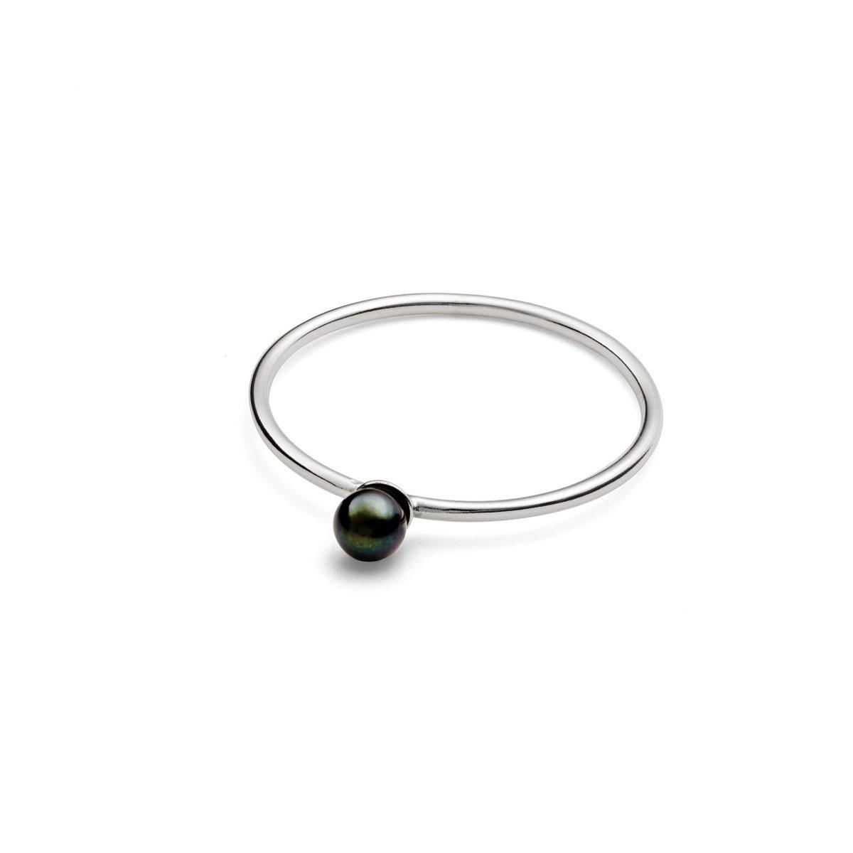 Black Pearl Ring
