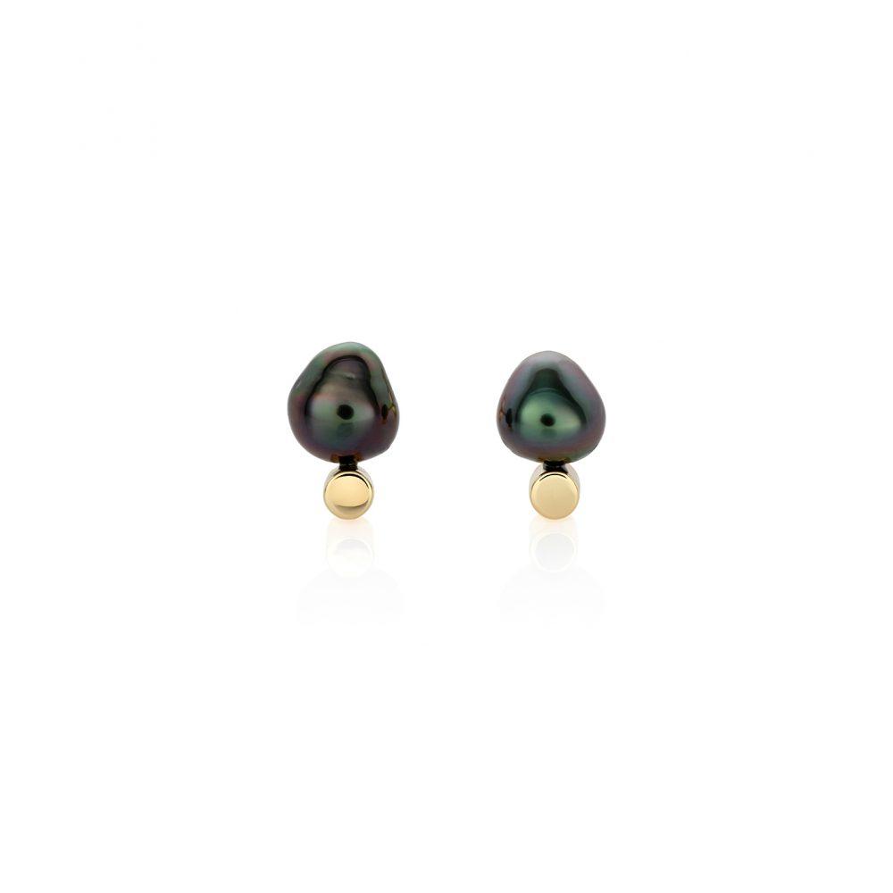 Tahiti Keshi Pearl Earrings