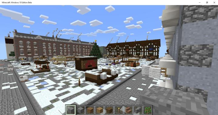 The Market Square: A Christmas Carol