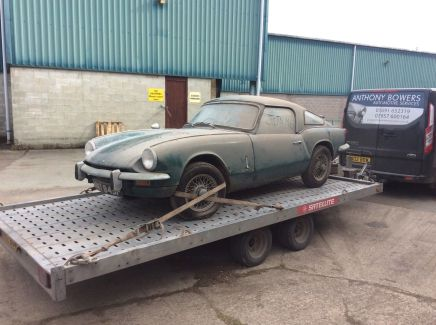 powerspark-ignition-triumph-tr6-barn-find