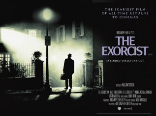 THE EXORCIST - UK Re-Release Poster